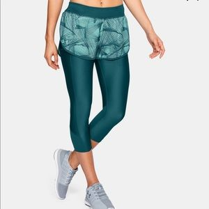 Under Armour Fly Fast Printed Shapri Teal NEW